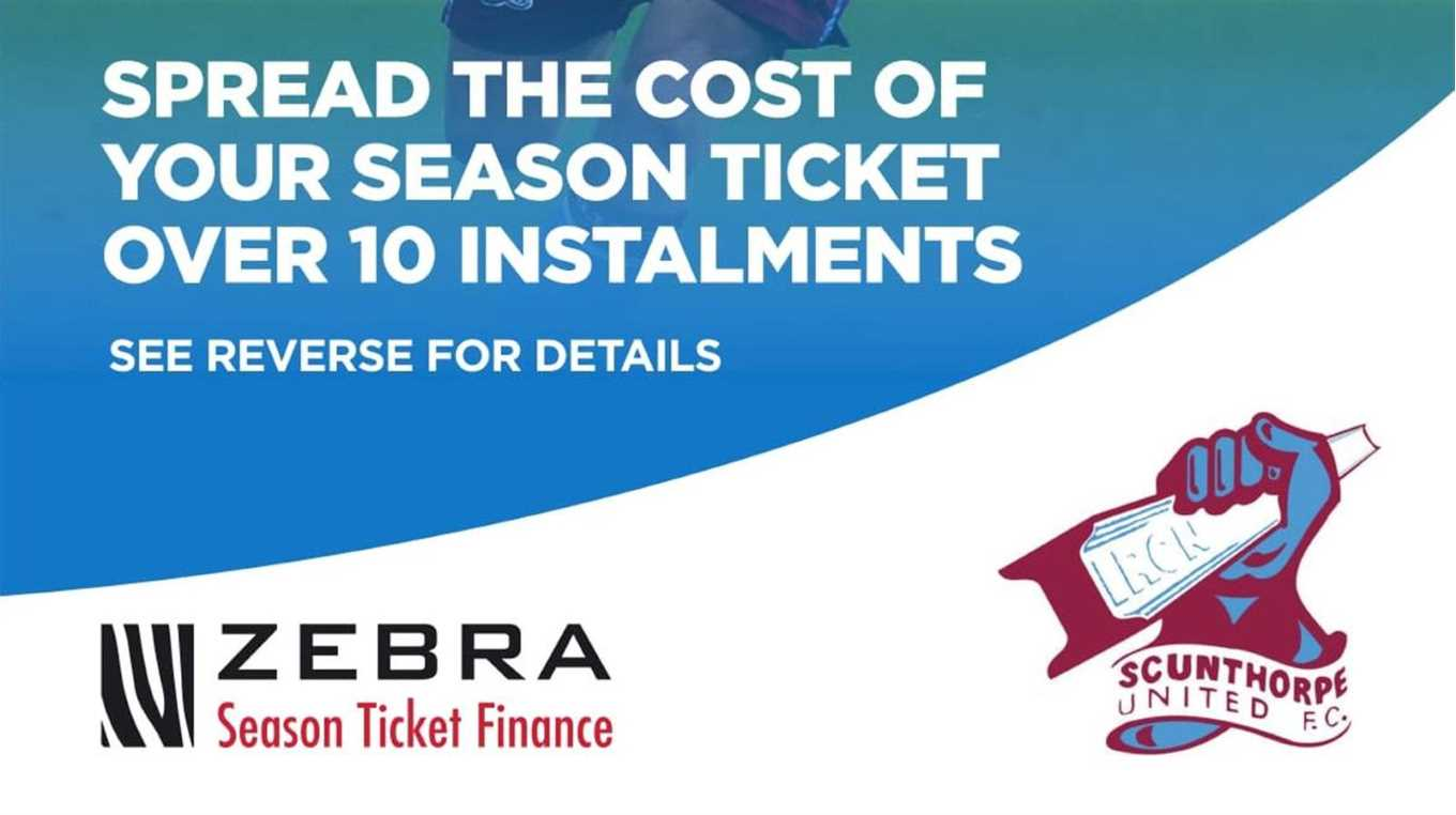 Spread the cost of your 12th Man package with Zebra Finance