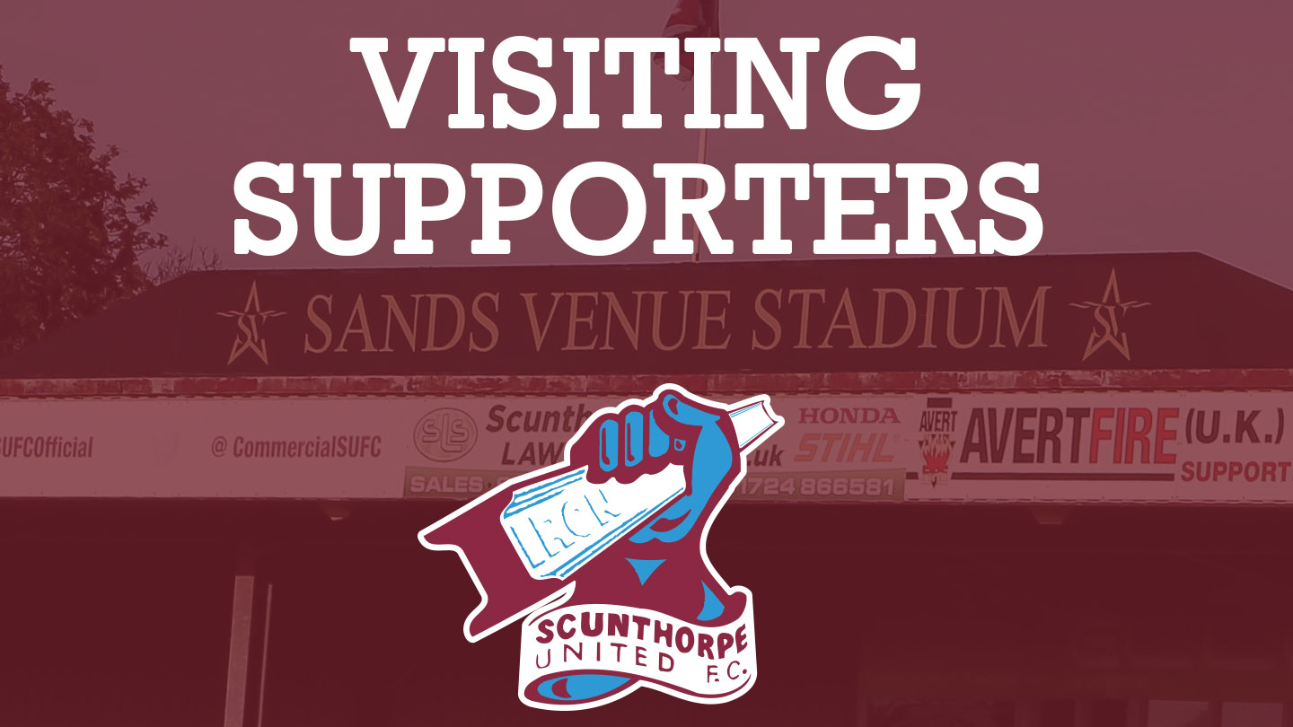 Visiting Supporters Scunthorpe United