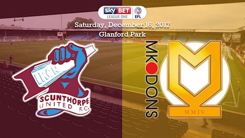16-12-17: The Iron v MK Dons