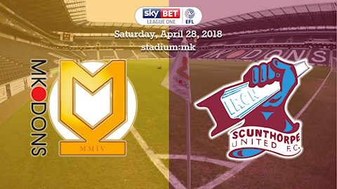 28-04-2018: MK Dons v The Iron