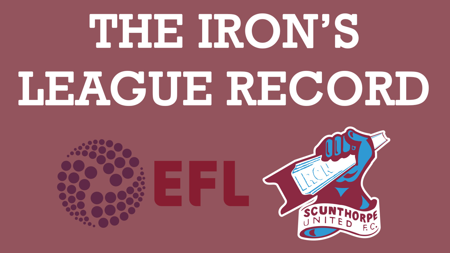 The Iron's league record
